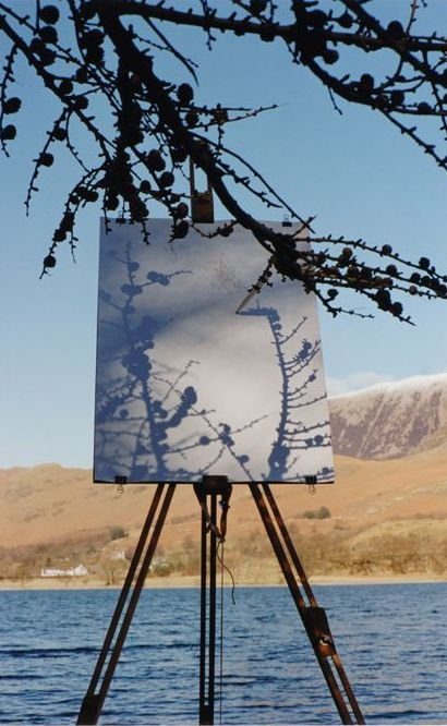 Larch on easel, Buttermere Shore #1
