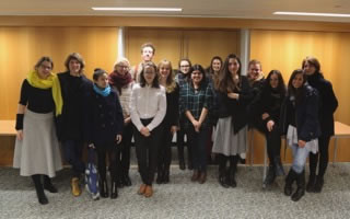 Collections Development Group 2014-15 with Kirstie Skinner and Kirsten Lloyd