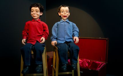 Ventriloquist Dummies Double Self Portrait
